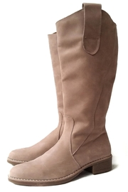 MIYE COLLAZZO Beige Riding Boot - Product Mini Image
