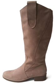 MIYE COLLAZZO Beige Riding Boot - Front cropped