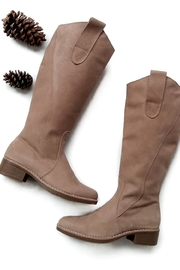MIYE COLLAZZO Beige Riding Boot - Other