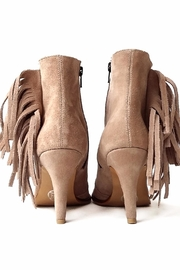 MIYE COLLAZZO Beige Suede Bootie - Side cropped