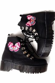 MIYE COLLAZZO Black Butterfly Boots - Other
