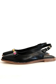 MIYE COLLAZZO Black Sapling Shoe - Front cropped