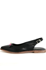 MIYE COLLAZZO Black Sapling Shoe - Back cropped