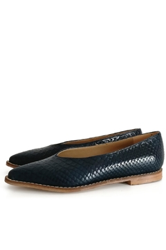 MIYE COLLAZZO Blue Shoe Pericon - Product List Image