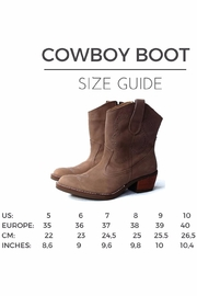 MIYE COLLAZZO Brown Cowboy Boot - Other