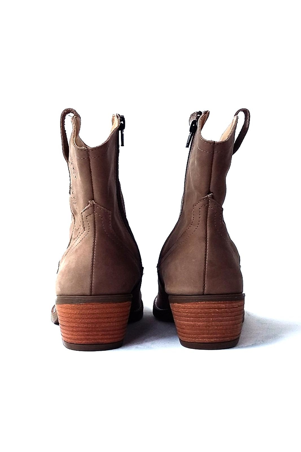 MIYE COLLAZZO Brown Cowboy Boot - Side Cropped Image