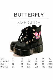 MIYE COLLAZZO Butterfly Platform Boots - Other