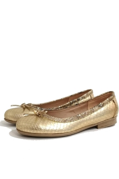 Shoptiques Product: Gold Frenchy Flat Shoes