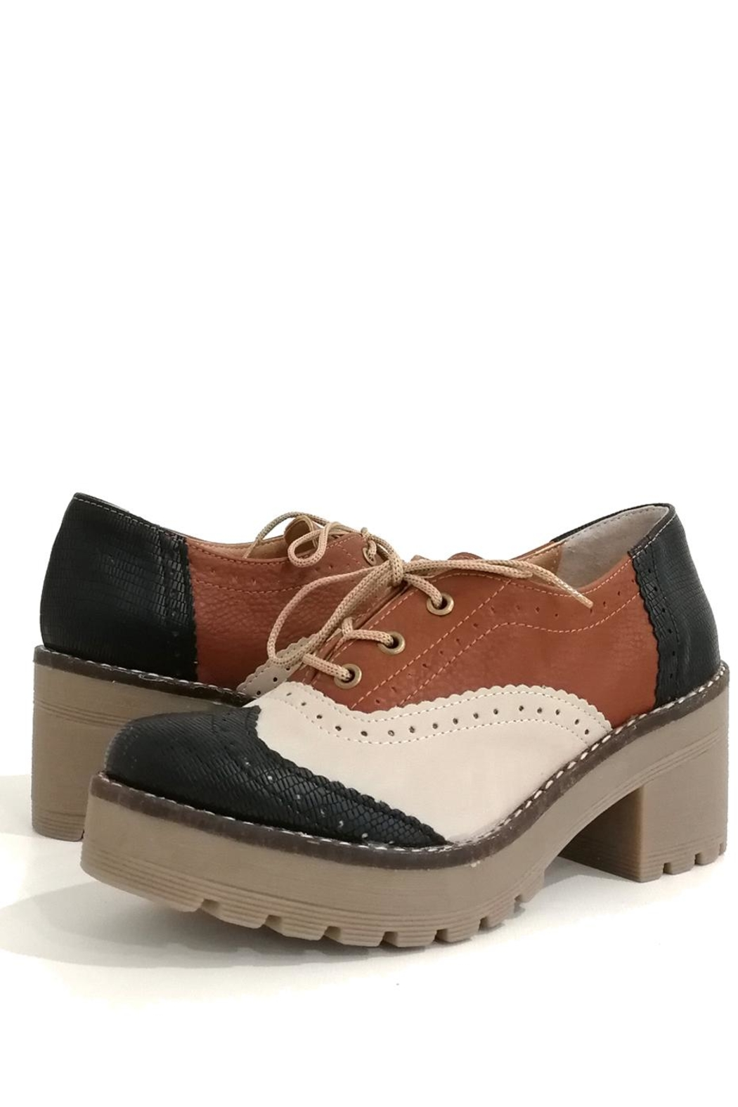 MIYE COLLAZZO Hope Shoes - Side Cropped Image