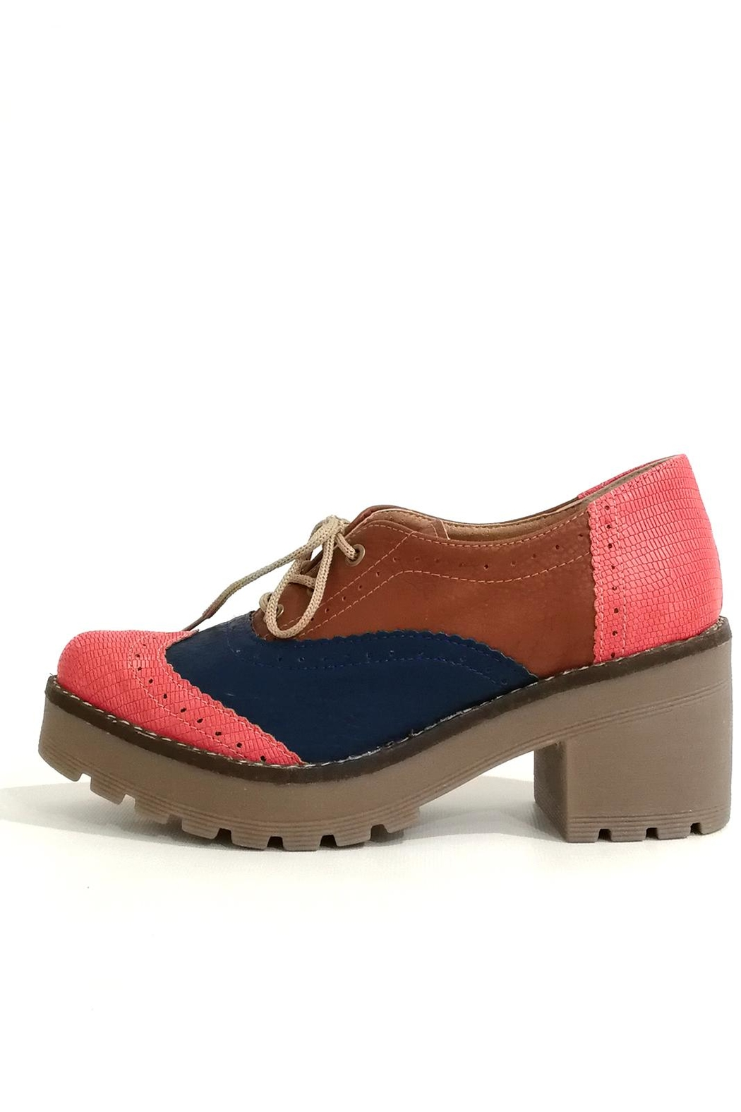 MIYE COLLAZZO Hope Pink Shoes - Front Full Image