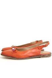 MIYE COLLAZZO Orange Sapling Shoe - Product Mini Image