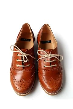 Shoptiques Product: Brown Leather Oxford