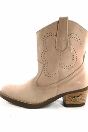 MIYE COLLAZZO Pink Cowboy Boot - Front full body