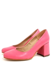 MIYE COLLAZZO Pink Block Heel - Product Mini Image