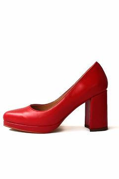 Shoptiques Product: Red Leather Stiletto