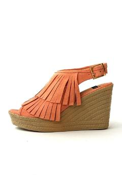 Shoptiques Product: Coral Fringe Wedge