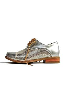 Shoptiques Product: Silver Oxford Shoes