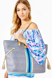 Lilly Pulitzer  Mizner Tote - Back cropped