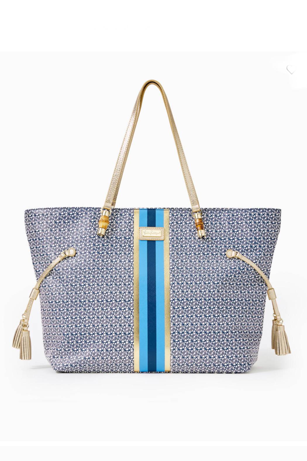 Lilly Pulitzer  Mizner Tote - Front Cropped Image