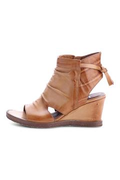 MJUS Italian Leather Wedge - Alternate List Image