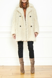 MKT Studio Midrix Faux-Sheep-Fur Jacket - Product Mini Image