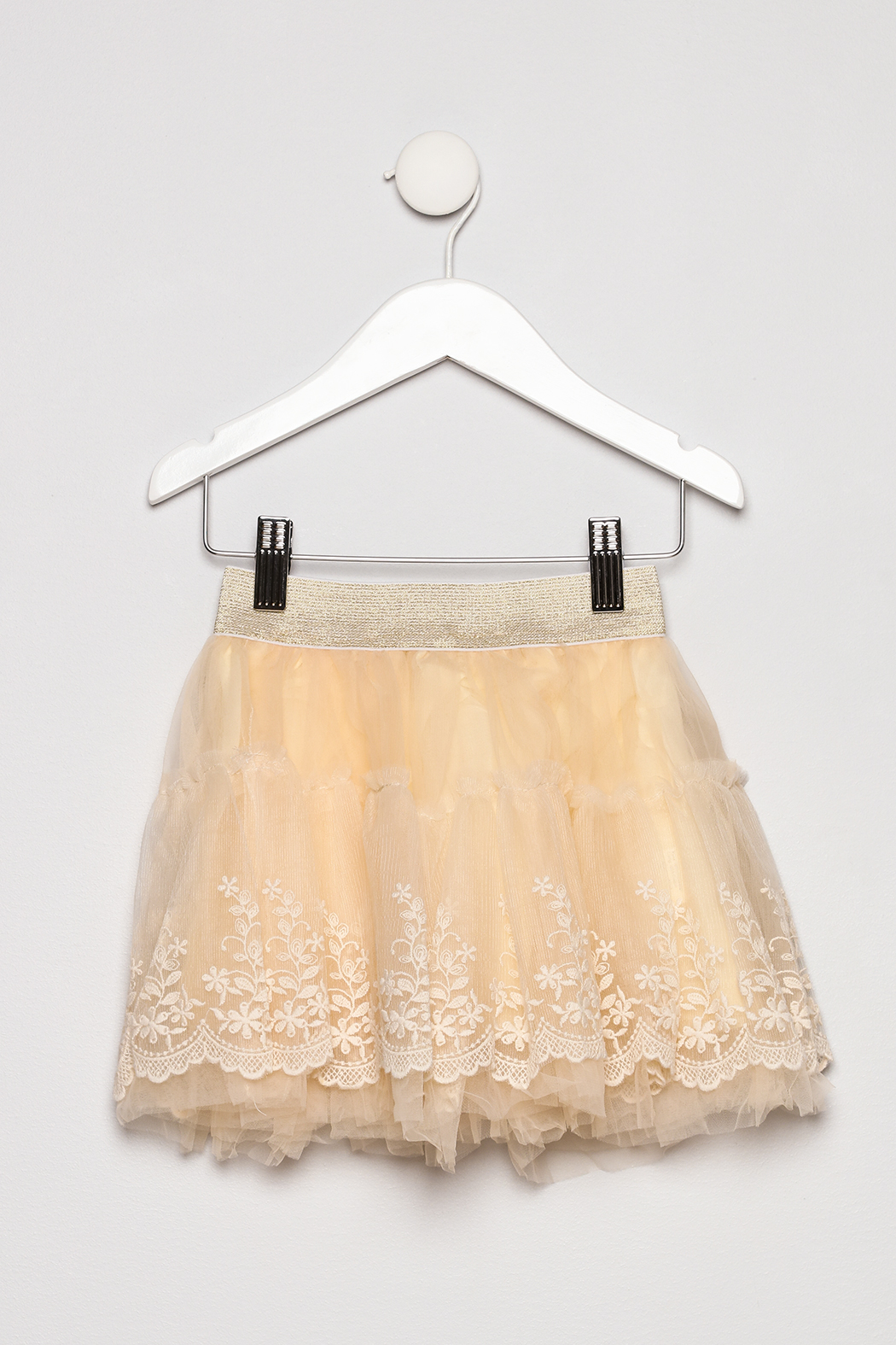 ML Kids Tutu Fluffy Skirt - Back Cropped Image