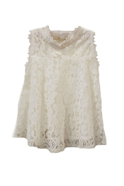 ML Kids Sleeveless A-Line Lace-Top - Front cropped