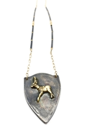 Maria Lightfoot Shield Deer Necklace - Product Mini Image