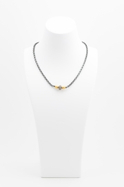 Maria Lightfoot Pave Bead Necklace - Front full body