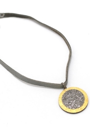Maria Lightfoot Pave Disc Necklace - Product Mini Image