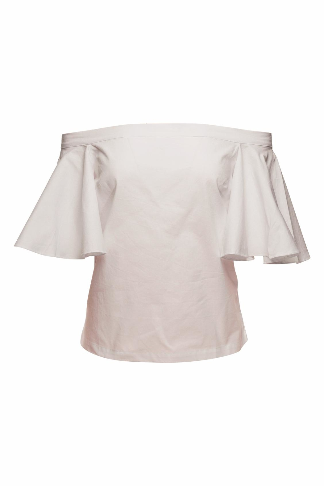 MLM The Label Highlight Shoulder Top - Side Cropped Image