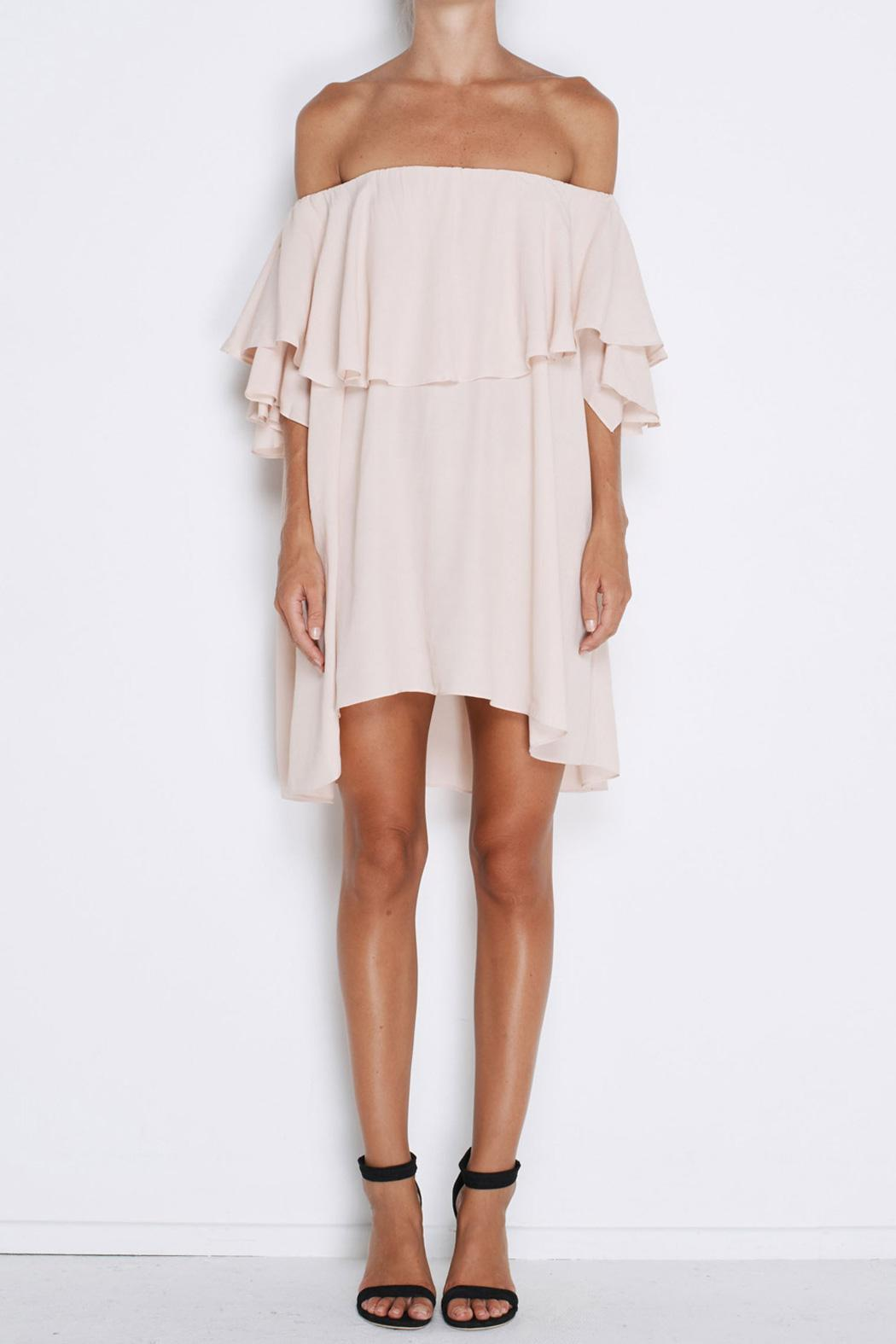 MLM The Label Maison Mini Pink Dress - Front Cropped Image
