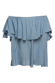 MLM The Label Maison Off Shoulder Blouse - Front full body