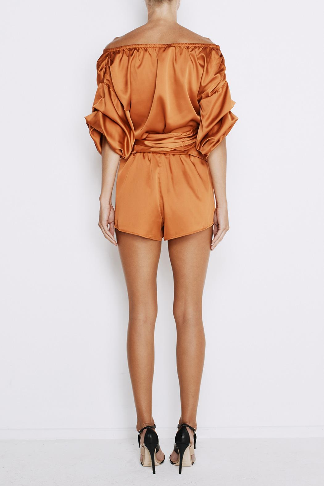 MLM The Label Salo Wrap Shirt - Side Cropped Image