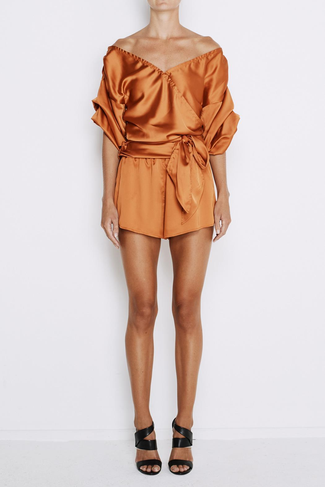 MLM The Label Salo Wrap Shirt - Front Cropped Image