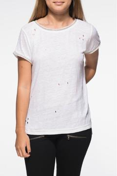 Shoptiques Product: Heather Destroyed Tee