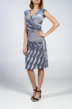 MLY Wrap Printed Dress - Alternate List Image
