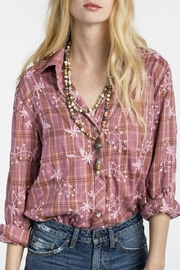 MM Vintage Embroidered Button Up Shirt - Product Mini Image