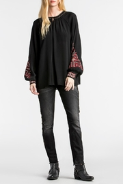 MM Vintage Embroidered Poet Sleeve - Front full body