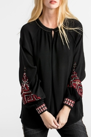 MM Vintage Embroidered Poet Sleeve - Front cropped