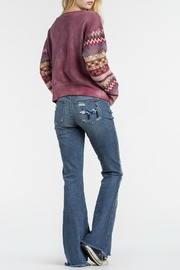 MM Vintage Embroidered Sleeve Sweatshirt - Front full body