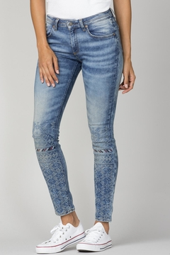 Shoptiques Product: Festival Embroidered Skinny