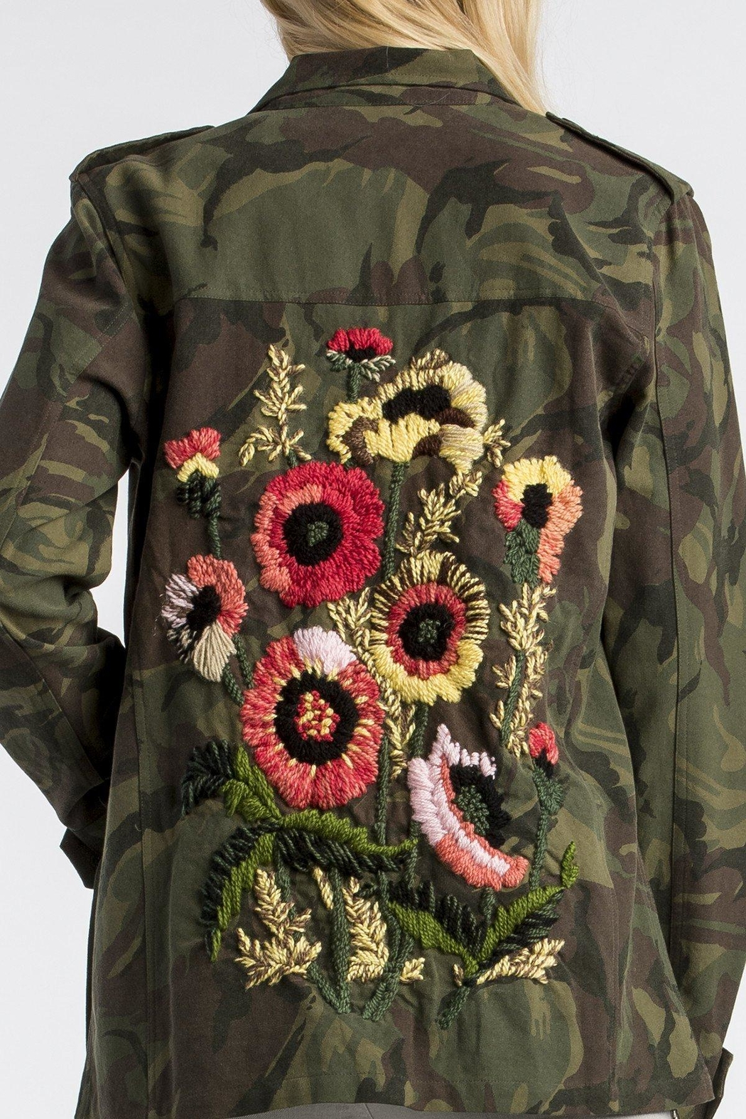 57ab3d3c728f5 MM Vintage Floral-Embroidered Camo Military-Jacket - Side Cropped Image