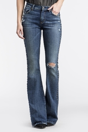 MM Vintage Studded Seam Flare - Front cropped