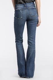 MM Vintage Studded Seam Flare - Front full body