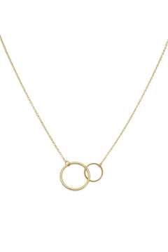 Shoptiques Product: 14k Circle Pendant