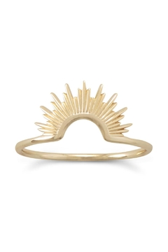 MMA Silver 14k Starburst Ring - Product List Image