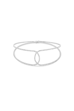 MMA Silver Crystal Choker - Alternate List Image