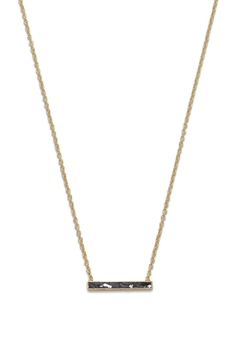 Shoptiques Product: Diamond Bar Pendant