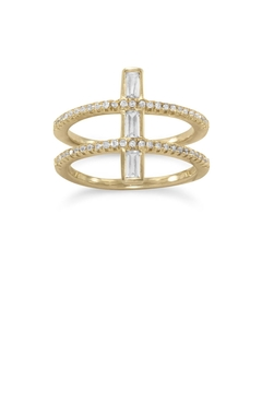 Shoptiques Product: Double Cross Ring